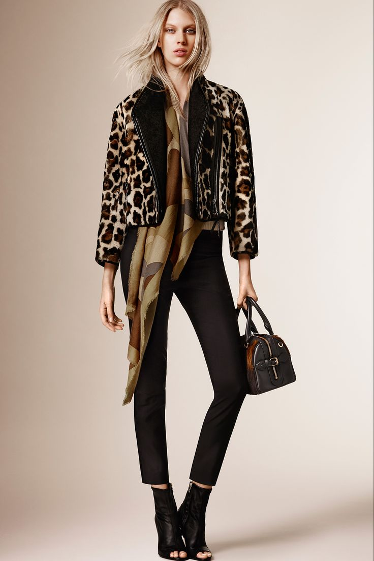 We're going wild for Burberry Prorsum Pre-Fall.