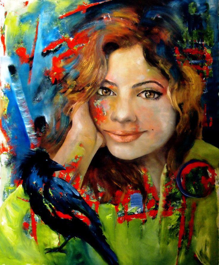 90 x 110 cm oil on canvas — 2016