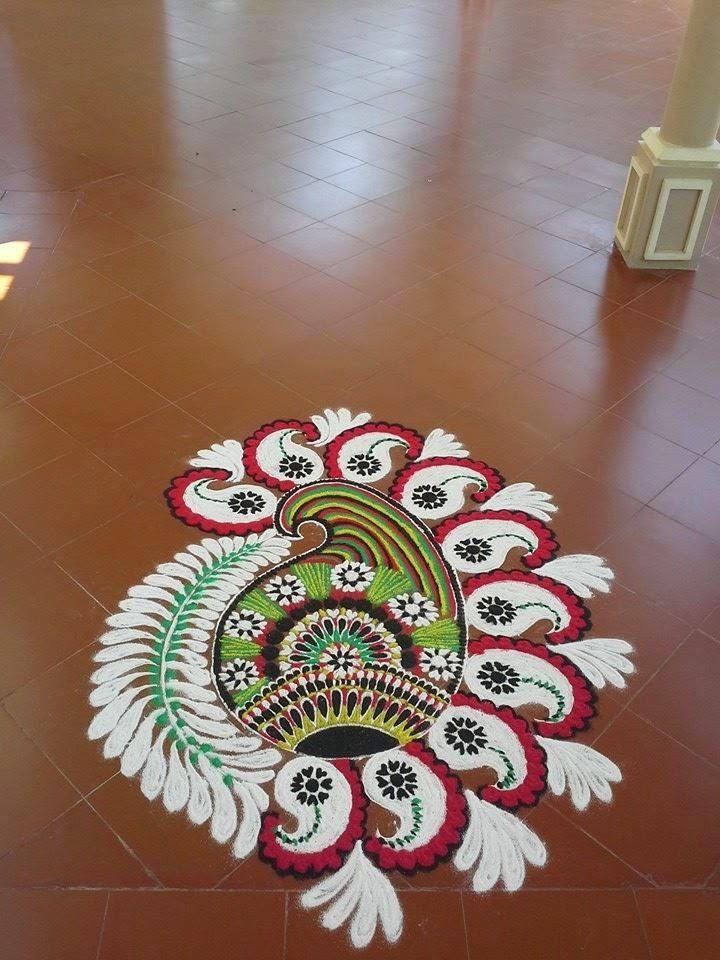 Rangoli Designs: Mash Kolam's Rangoli