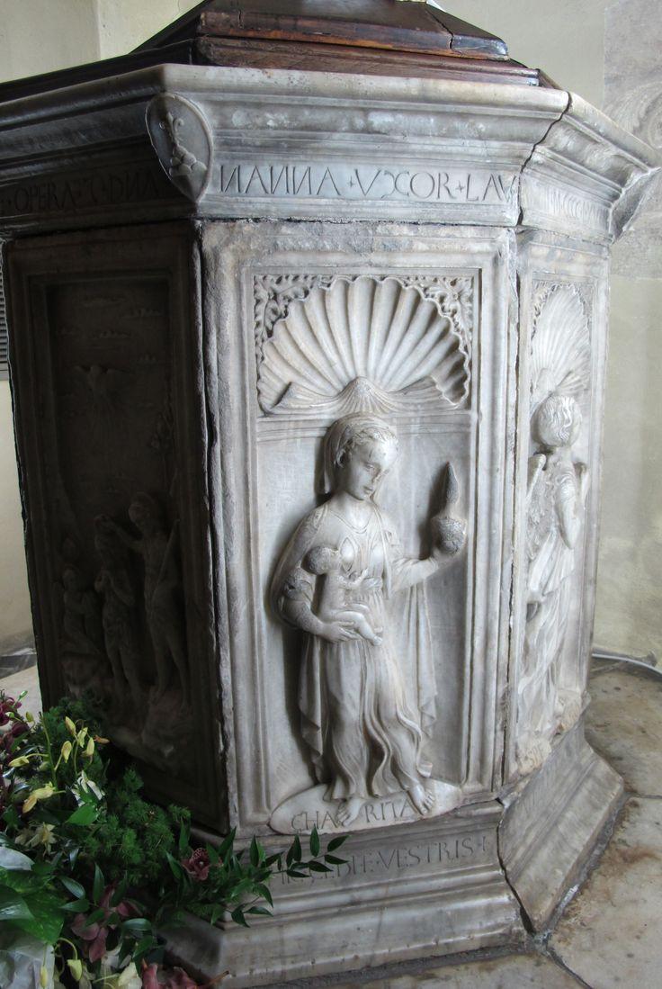 Доменико Росселли, купель Санта-Мария-а-Монте, 1468 г.