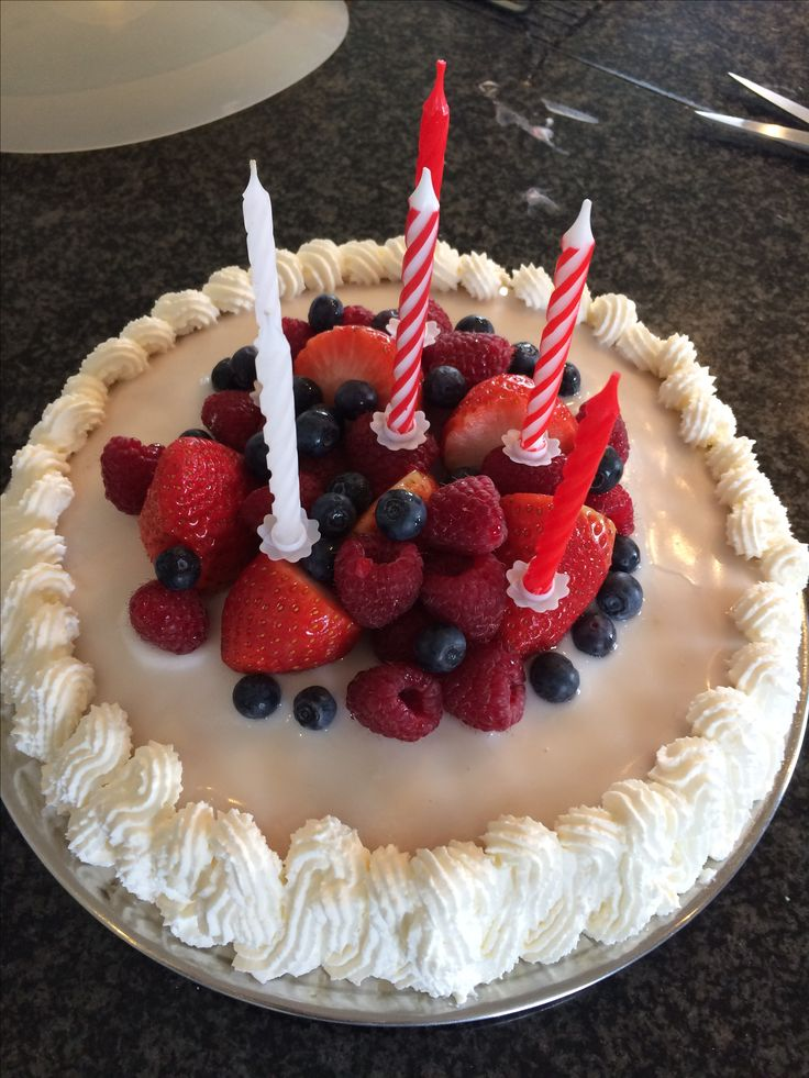 Fødselsdagslagkage #mskreation