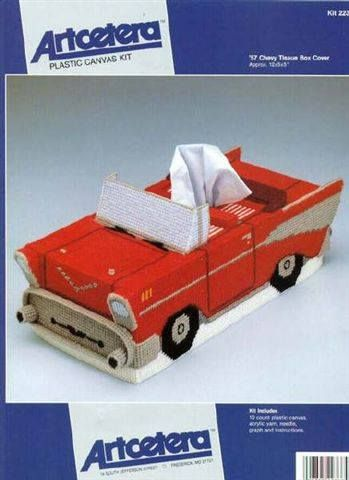 '57 Chevy Tissue Box Cover