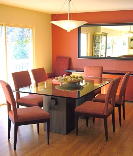 Dining Room Paint Ideas With Accent Wall best 25+ orange accent walls ideas on pinterest | paint ideas for