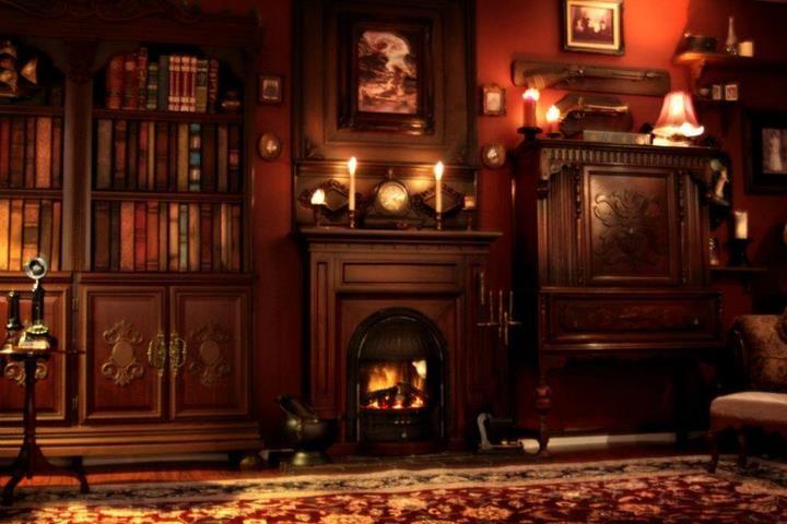 Steampunk Interior By Kato Home Ideas Pinterest Steampunk - Steampunk living room