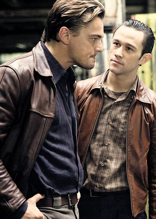 """Joseph Gordon Levitt and Leonardo Dicaprio portray the characters of Arthur and Dominic """"Dom"""" Cobb respectively in the movie """"Inception""""......"""