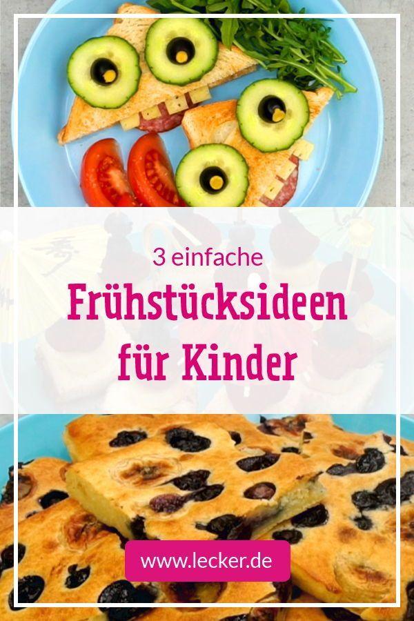 Café da manhã para crianças – dicas e receitas