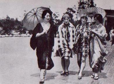 The Moga (Modern Girls), Japanese women Taisho period (1912-26)