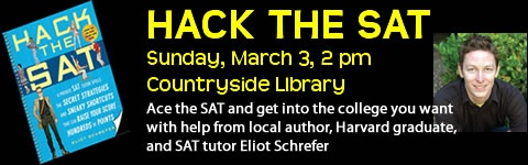 Author and SAT tutor Eliot Schrefer shares hints on improving SAT scores. Eliot graduated Countryside HS, Harvard, and currently resides in NYC.