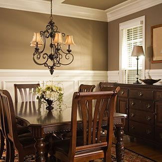 formal dining room colors