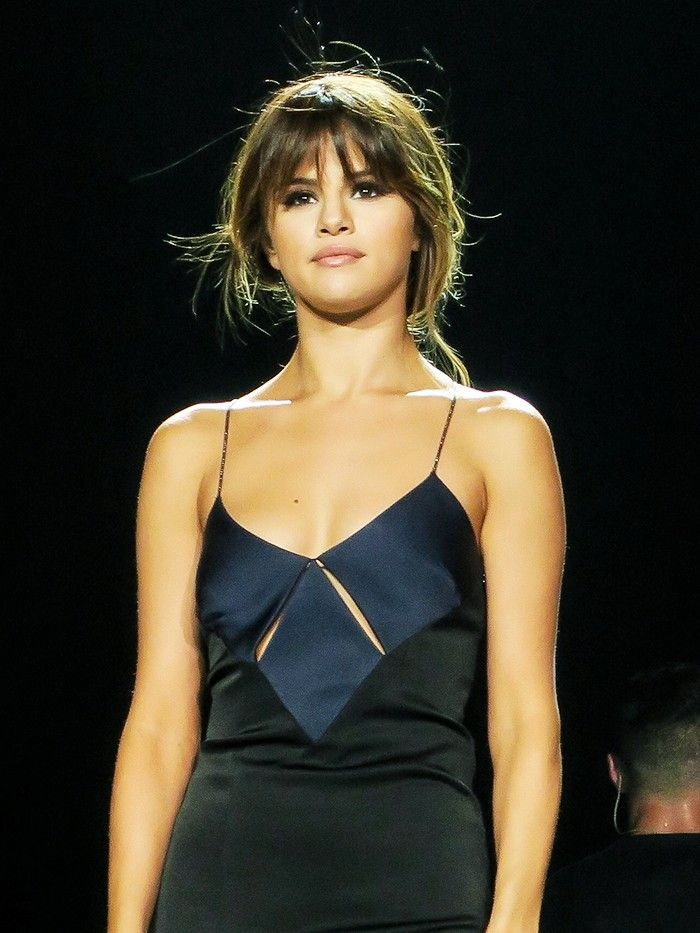 Selena Gomez Cannot Stop Wearing This Formal Dress (WhoWhatWear.com)