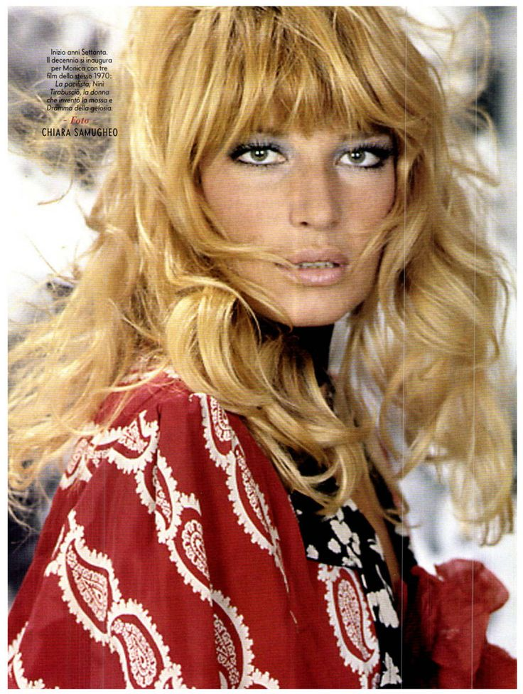 Monica Vitti, 1970 (italian actress)