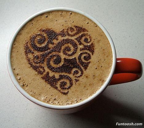 I heart coffee. #latteart #coffelovers