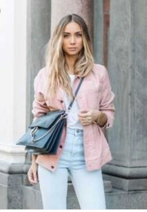Pin by Leong Yi on Pink Denim Jacket in 2019  af2d654b4