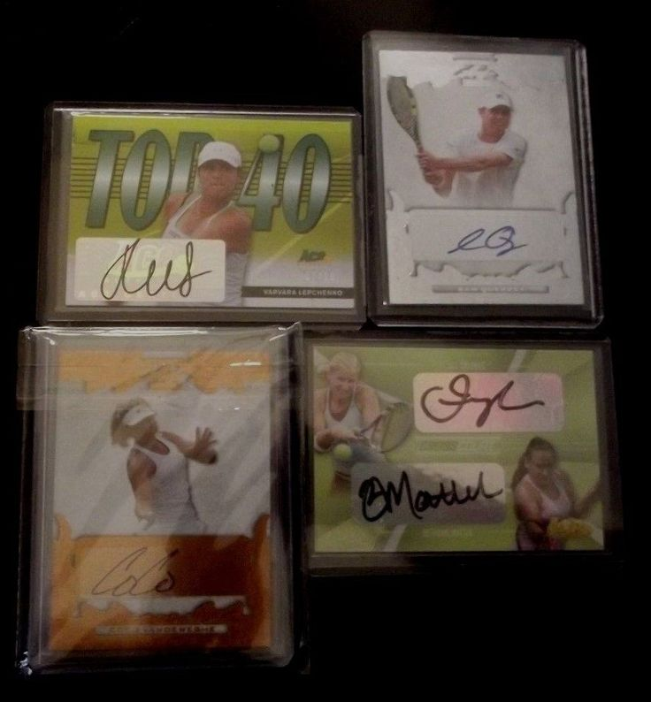 Tennis Cards 43371: American Tennis Stars Autograph Lot - Sam Querrey, Mattek-Sands, Vandeweghe, Ace -> BUY IT NOW ONLY: $50 on eBay!