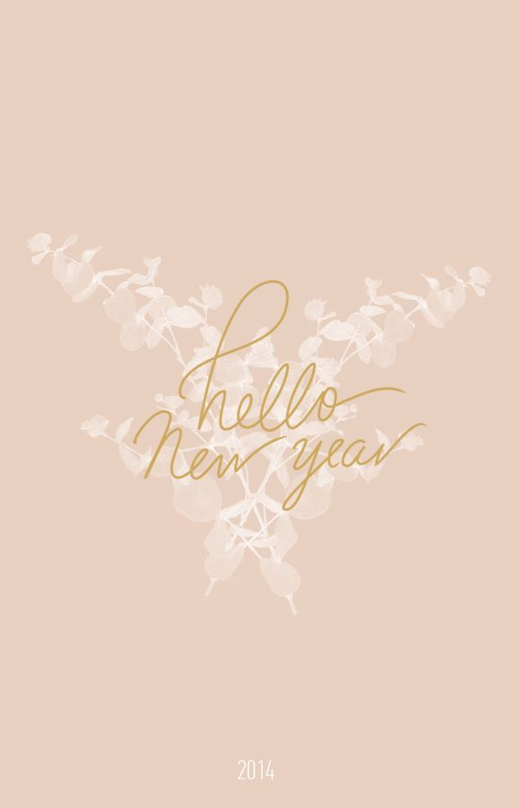 hello new year, downloadable wallpaper by cocorrina.com