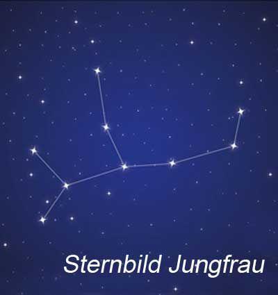 Sternbild Jungfrau