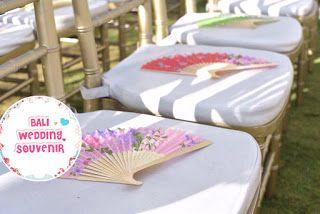 Bali Wedding Souvenir: KIPAS JEPANG