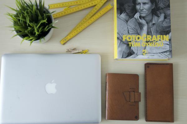 Handmade Leather Wallet, Long Wallet for Men&Women, Brown Long Leather Wallet, Unisex