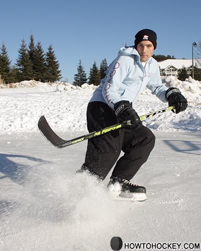 Hockey stops.  I hope to be able to do this some day.  Right now I can't even figure out plow stops, so we'll see.