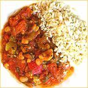 receta chili vegetariano
