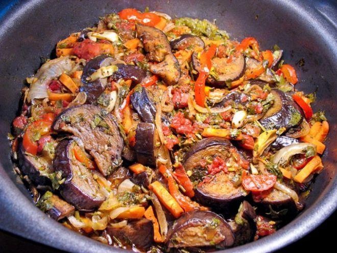 Ароматное и полезное овощное рагу по-грузински. Рецепт неповторимого аджапсандали. | Candy-Time