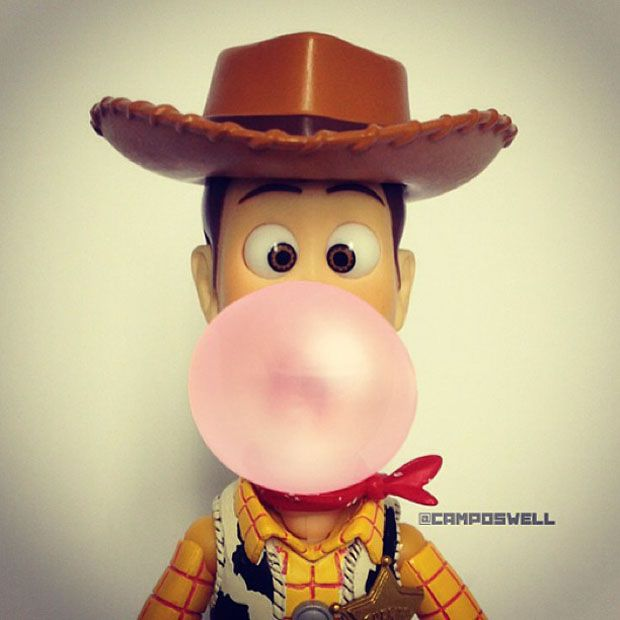 Woody chewing gum! \*o*/