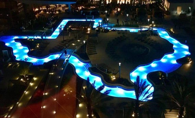 The first ever Texas-shaped lazy river, like everything else that is state-shaped, is truly a beauty to behold, and we can't wait to lounge in its luxury!