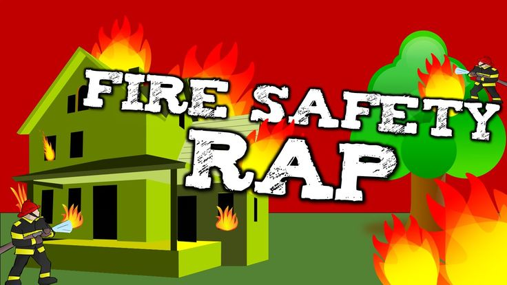 FIRE SAFETY RAP!  (song for kids about fire safety, calling 911, etc...)