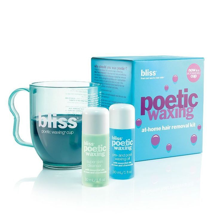 bliss Poetic Waxing At-Home Hair Removal Kit, Multicolor