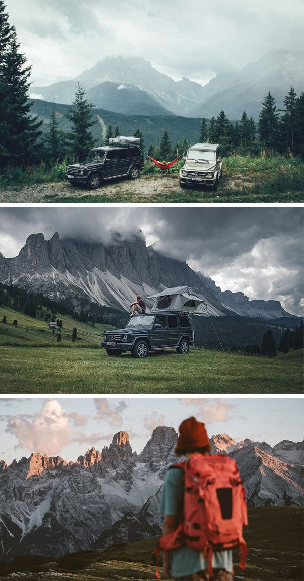 An offroad adventure through the breathtaking Dolomates with the Mercedez-Benz G-Class. Photo by German Roamers (www.german-roamers.squarespace.com) #MBdolomates #MBphotopass