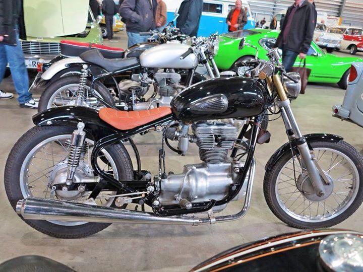 Simson AWO 425 Sport Chopper Eigenbau
