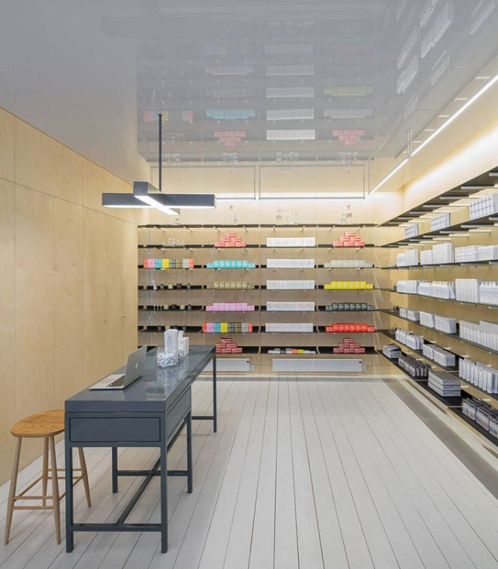 MALIN GOETZ Boutique By Jonathan Tuckey Design London UK Retail