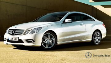 Cool Mercedes: Mercedes E Class Coupe...  Classic Cars