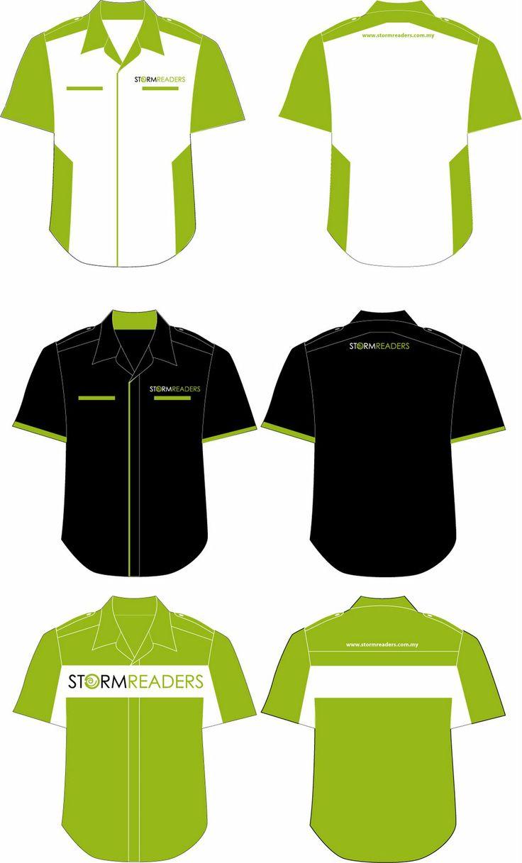 Design t shirt kolar terkini - Uniform Design India