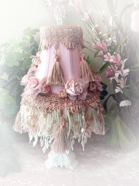 278 best lovely shabby chic lighting shades images on pinterest omg i can use lamp shades aloadofball