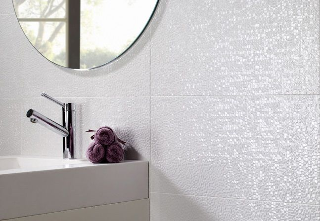 Capua Blanco By Pamesa Modern Spanish Ceramic Wall Tile