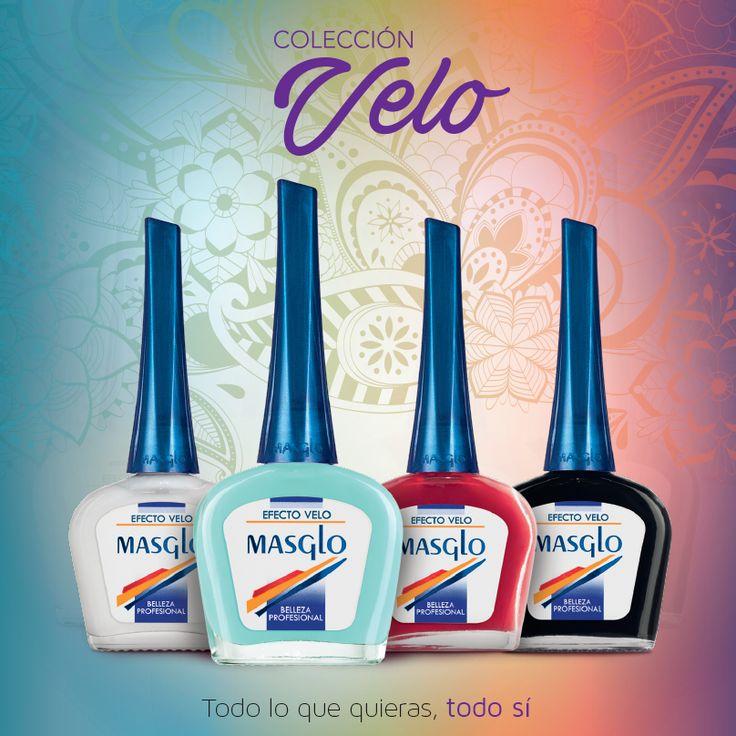 Colección Velo #SoyMasglo #Masglo #MasgloLOVERS #ColeccionVelo #NailPolish