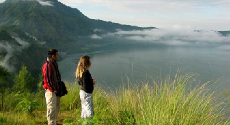 "The Batur Caldera Trekking is one of the most beautiful in the world.  It has been described as ""Trekking with the gods.""  After climbing the caldera wall you will trek along the edge of the vast crater. This journey will take you through the most ""untainted"" villages in Bali, including the Bali Aga village of…Continue reading →"