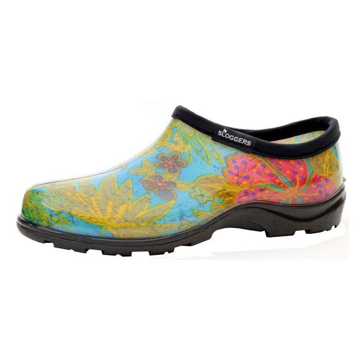 Sloggers Womens Midsummer Blue Rain Shoe, Women's