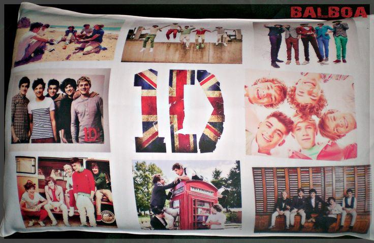 Funda de Almohada de 45x70cm  One Direction!
