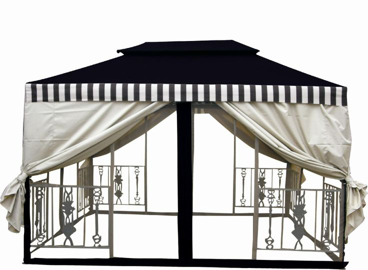 metal frame gazebo parts