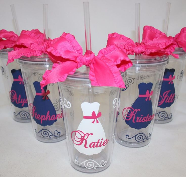 Personalized Wedding Acrylic Tumblers, Bride to Be or Bridesmaids Gift #MAARS