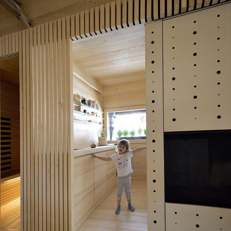 Charming Studio Carniolus Film Shows OFIS Arhitektiu0027s Alpine Barn Apartment In  Slovenia