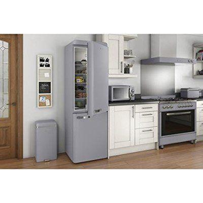 Swan SWKA4500GRN Retro Square Sensor Bin with Infrared Technology, Grey, 45L: Amazon.co.uk: Kitchen & Home
