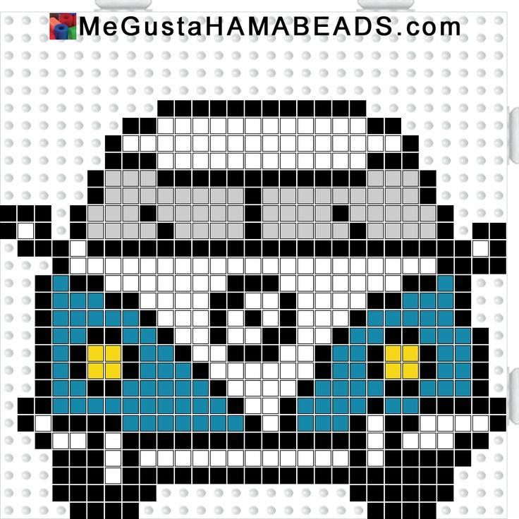 MeGustaHAMABEADS.com: HamaBeads escarabajo, furgo y mini en tamaño pequeño