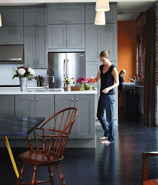 Gray Kitchen Cabinets With Black Appliances: 66 Best Kitchens We Love Images On Pinterest