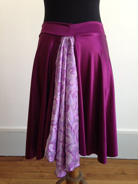 Gorgeous Tango skirt with stunning tail shades of by BellaTango