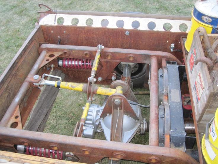 ratrod pickup turbo diesel big rig mercedes engine