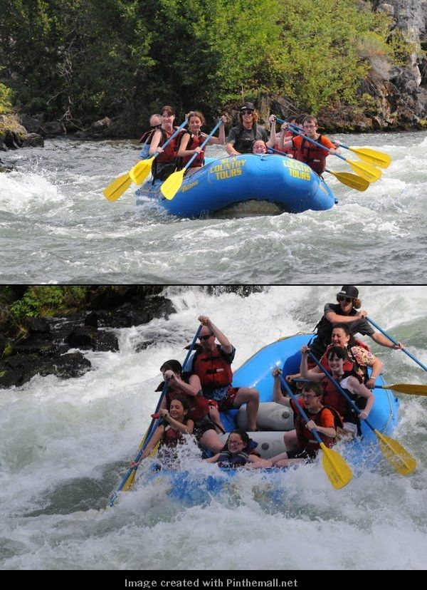White Water Rafting. I so want to do this again!