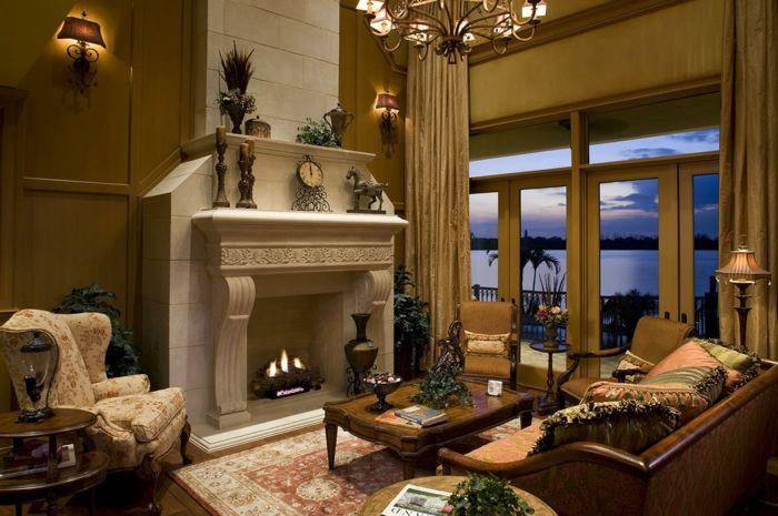 mediterrane deko mediterrane möbel landhaus einrichtung Home - dekorationsideen wohnzimmer braun